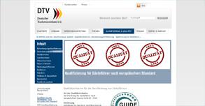 BVGD-Zertifikat DIN EN / Qualifizierung für Gästeführer nach europäischem Standard